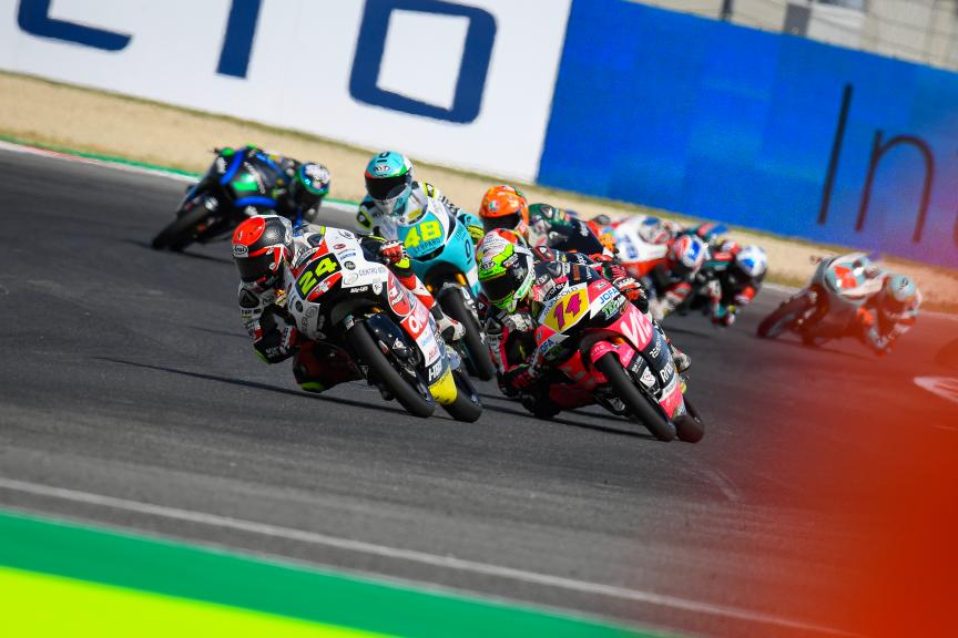Tony Arbolino, Tatsuki Suzuki, Gran Premio Octo di San Marino e della Riviera di Rimini