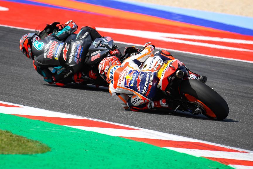 Fabio Quartararo, Marc Marquez, Gran Premio Octo di San Marino e della Riviera di Rimini