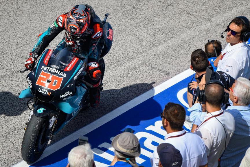 Fabio Quartararo, Petronas Yamaha SRT, Gran Premio Octo di San Marino e della Riviera di Rimini
