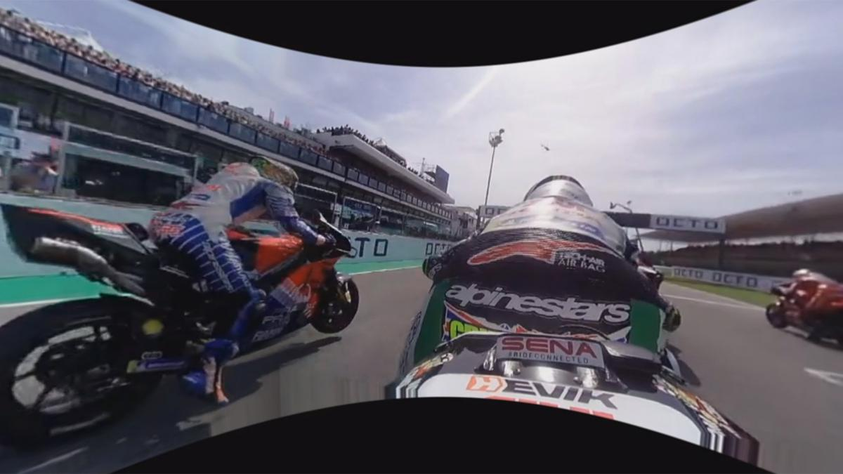 OnBoard with Crutchlow: Watch the start of the San Marino GP