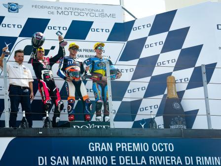 Moto2, Race, Gran Premio Octo di San Marino e della Riviera