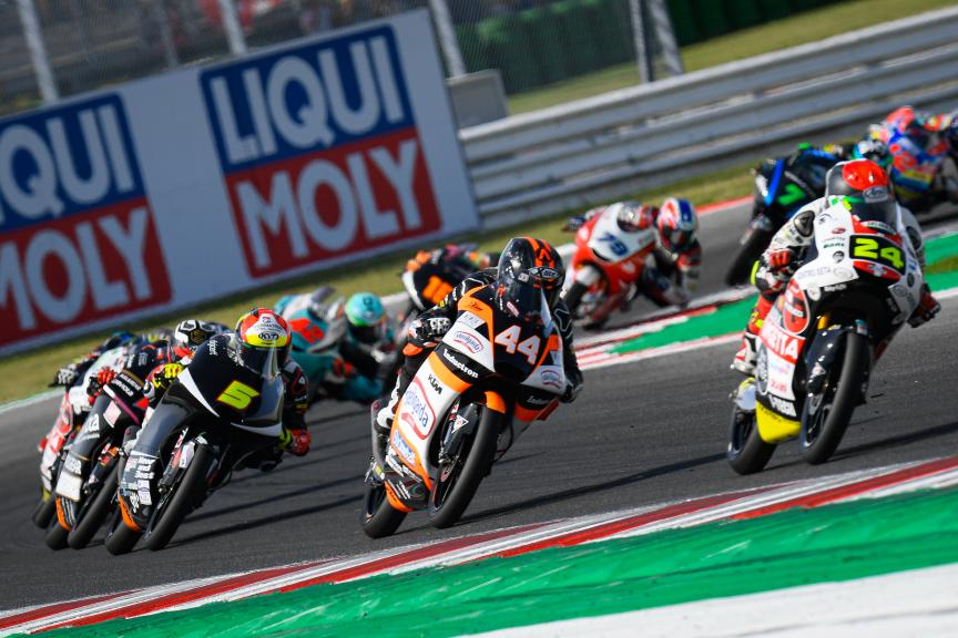 Aron Canet, Sterilgarda Max Racing Team, Gran Premio Octo di San Marino e della Riviera di Rimini