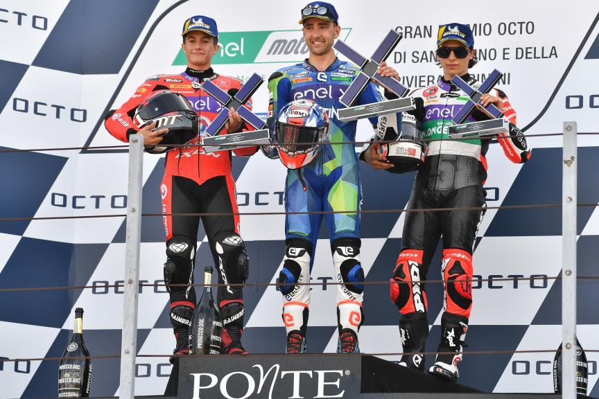 Matteo Ferrari, Hector Garzo, Mattia Casadei, Gran Premio Octo di San Marino e della Riviera di Rimini