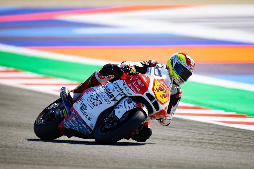 Dominique Aegerter, MV Augusta Temporary Forward, Gran Premio Octo di San Marino e della Riviera di Rimini