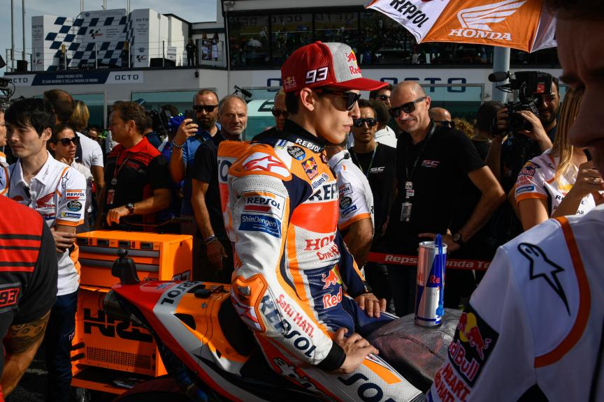 Marc Marquez, Repsol Honda Team, Gran Premio Octo di San Marino e della Riviera di Rimini