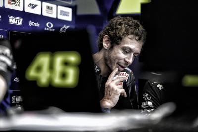 """I didn't have the pace"": Podium a step too far for Rossi"