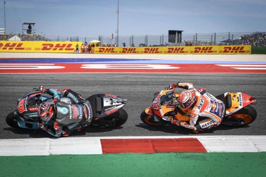 Marc Marquez, Fabio Quartararo, Gran Premio Octo di San Marino e della Riviera di Rimini