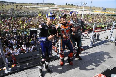 Yamaha in forma a Misano ma la vittoria la firma Marquez