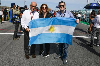 Santiago del Estero Governor Gerardo Zamora came to the #SanMarinoGP
