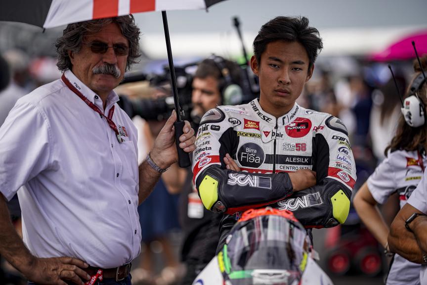 Tatsuki Suzuki, Paolo Simoncelli, SIC58 Squadra Corse