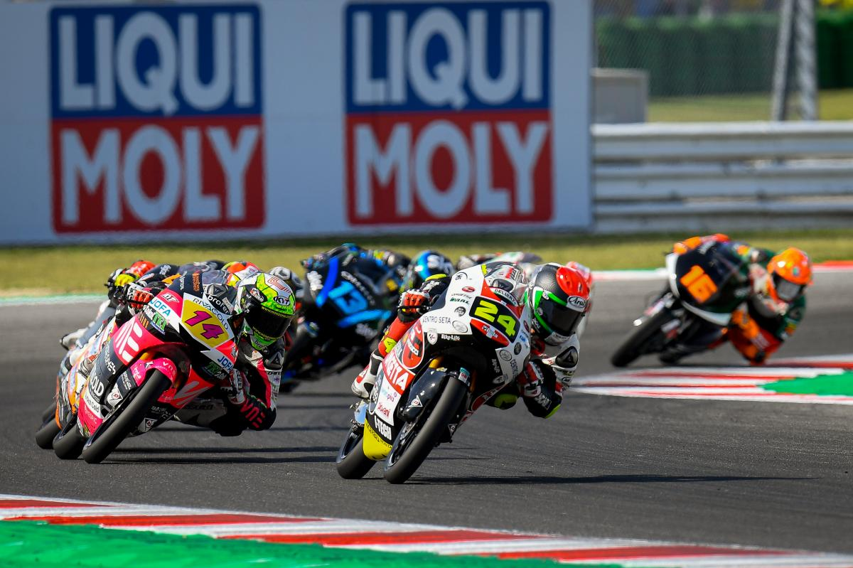 Suzuki makes it 10 different Moto3™ winners in 2019