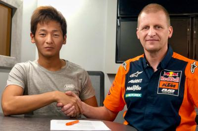 Kaito Toba joins Red Bull KTM Ajo for the 2020 Moto3™ season
