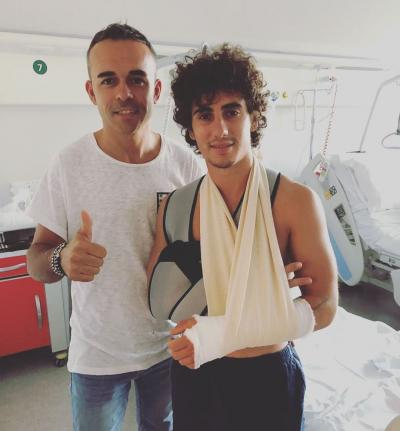@nicco23on undergoes successful surgery on left wrist