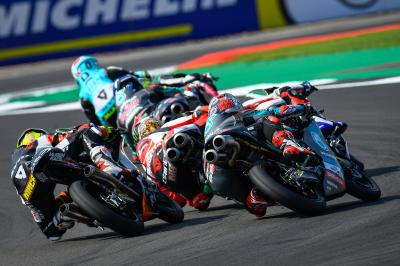 El reglamento de los test de Moto3™ y Moto2™ evoluciona