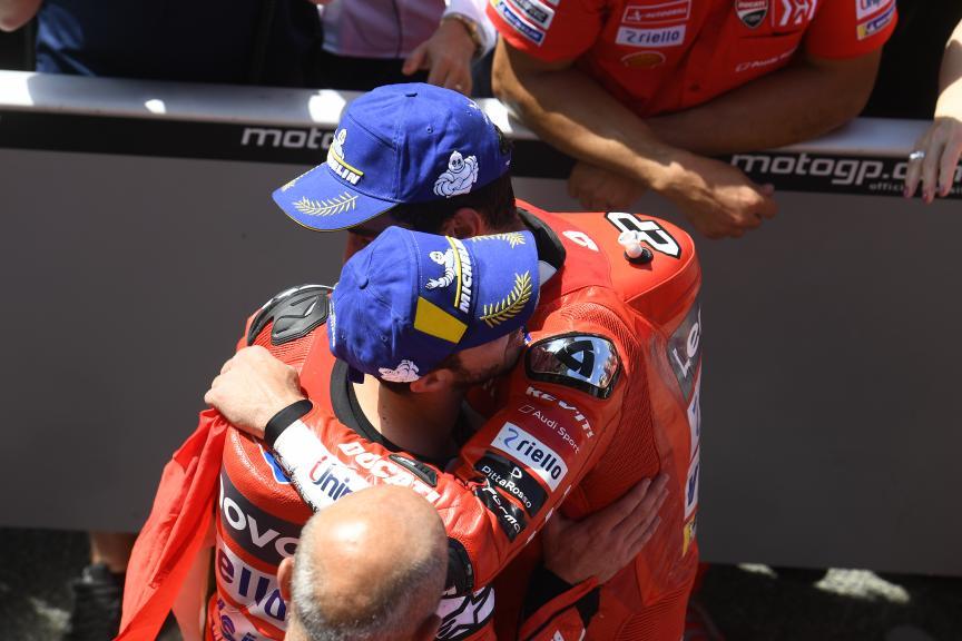 Danilo Petrucci, Andrea Dovizioso, Ducati Team