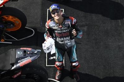 Fulfilled dream fuels Quartararo's belief in beating Marquez