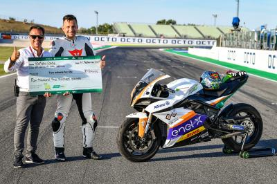 A MotoE™ experience at Misano with Two Wheels for Life