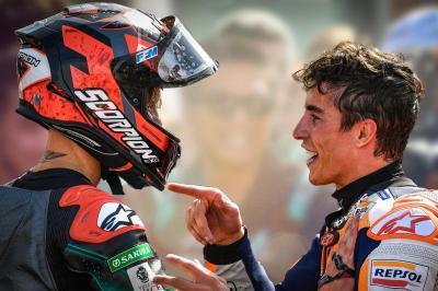 Márquez y Quartararo se citan en el segundo asalto