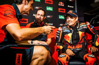 Kallio: 'All riders look for a chance to do some races'