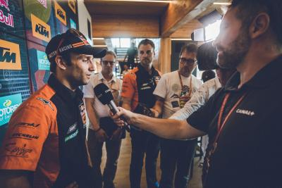 Zarco gives his version of events on the KTM split