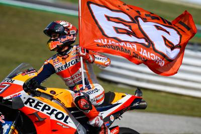Marquez set to make 200th GP start in Aragon