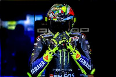 Rossi shooting for the podium at MotorLand