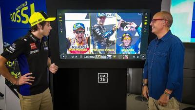 Rossi habla sobre sus planes de futuro en DAZN