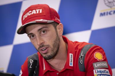 Dovizioso gives his thoughts on the Zarco-KTM situation