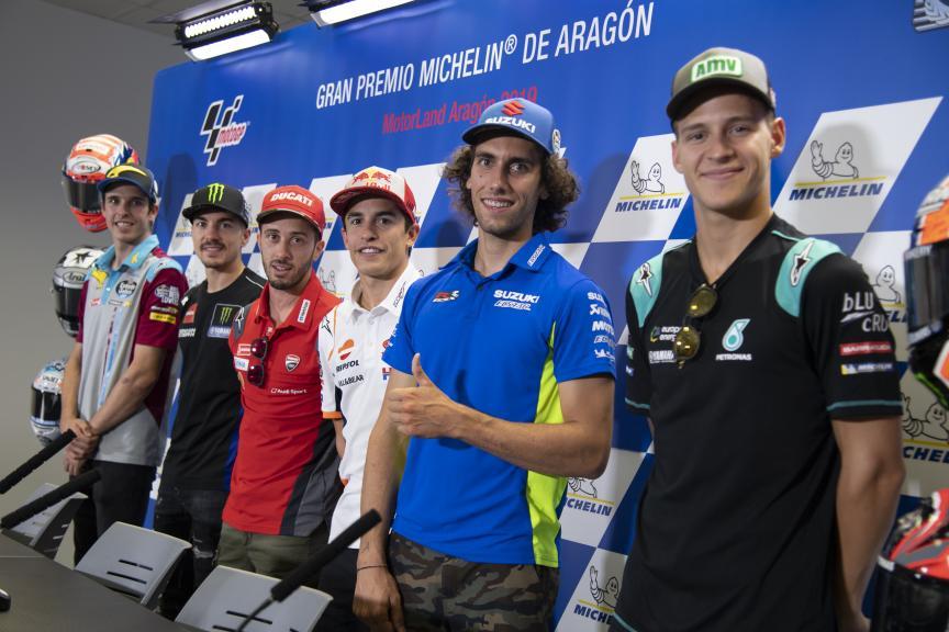 Press-Conference, Gran Premio Michelin® de Aragon