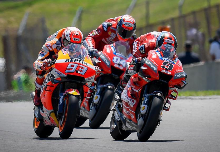 Battles in MotoGP_ITA GP
