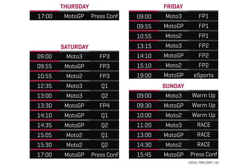 schedule-ARA