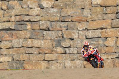 Marquez fastest overall despite FP2 crash