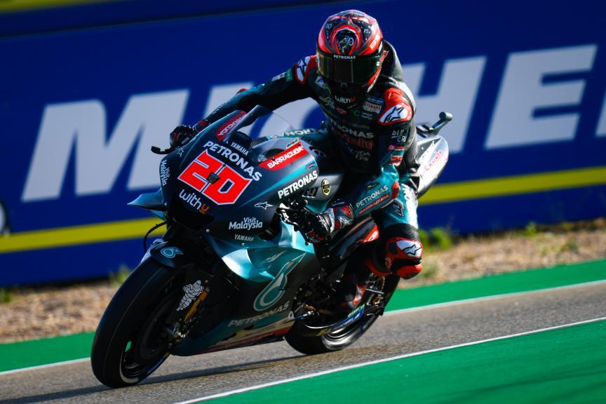 Fabio Quartararo, Petronas Yamaha SRT, Gran Premio Michelin® de Aragon