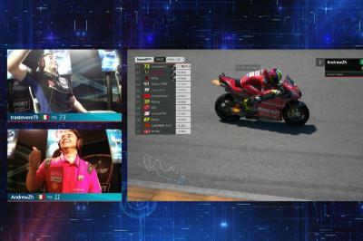 eSport Global Series Race 4 sees last corner drama!