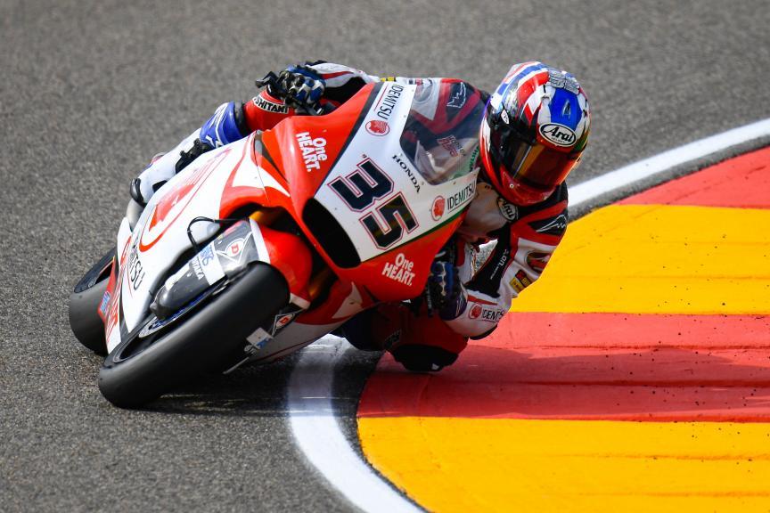 Somkiat Chantra, Idemitsu Honda Team Asia, Gran Premio Michelin® de Aragon