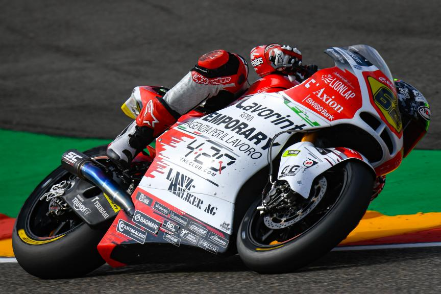Stefano Manzi, MV Augusta Temporary Forward, Gran Premio Michelin® de Aragon