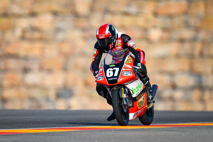 Gerard Riu Male, Baiko Racing Team, Gran Premio Michelin® de Aragon