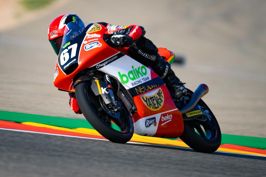 Gerard Riu Male, Baiko Racing Team, Gran Premio Michelin® de Aragon