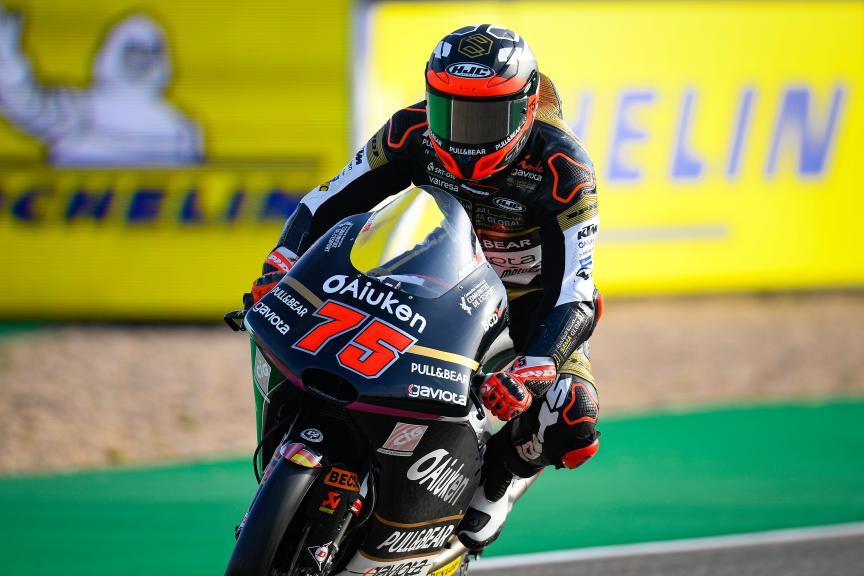 Albert Arenas, Sama Qatar Angel Nieto Team, Gran Premio Michelin® de Aragon