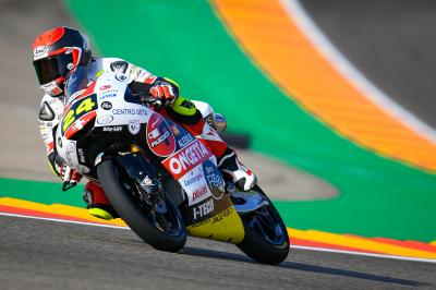 Suzuki starts where he left off by topping FP1 in Aragon