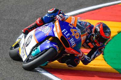 Fernandez fastest from Marini in FP1