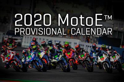 MotoE™, il calendario provvisorio per il 2020