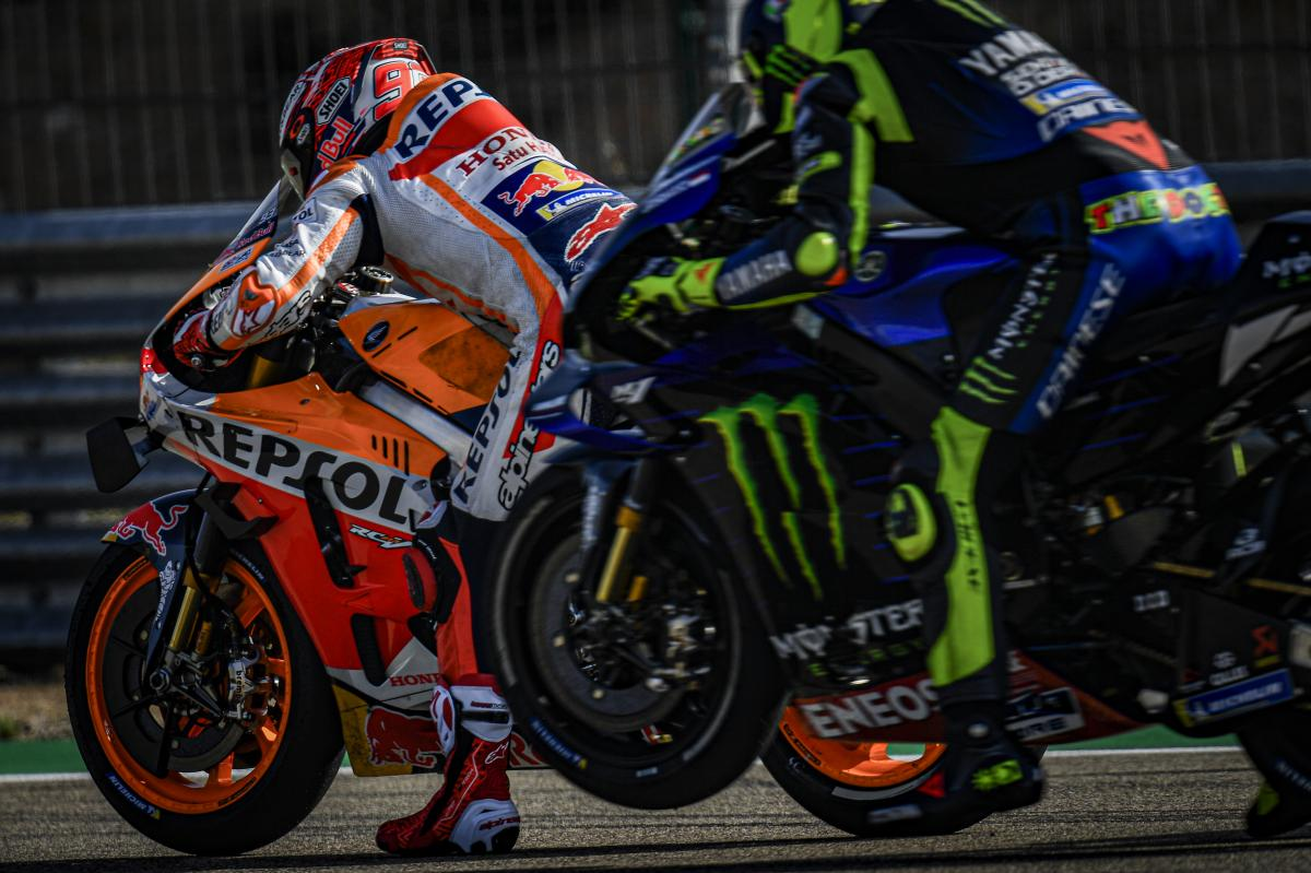 Marquez must keep an eye on Yamaha rivals in Aragon