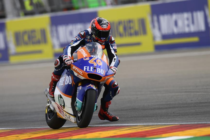 Augusto Fernandez, Flex-Box HP40, Gran Premio Michelin® de Aragon