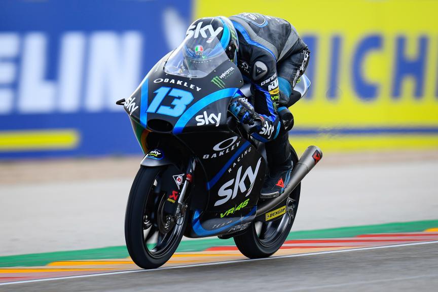 Celestino Vietti, Sky Racing Team VR46, Gran Premio Michelin® de Aragon