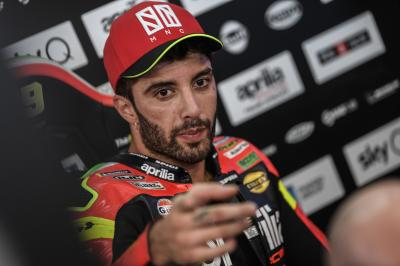 Why did Iannone only do one lap in Q2?