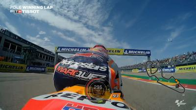 OnBoard: Marquez' pole-winning lap for FREE!