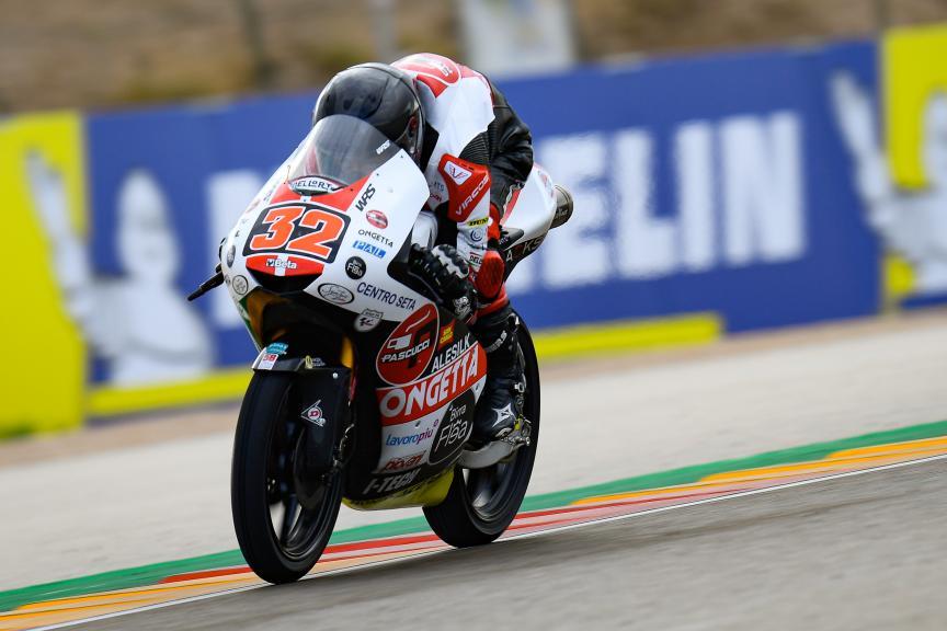 Davide Pizzoli, SIC58 Squadra Corse, Gran Premio Michelin® de Aragon