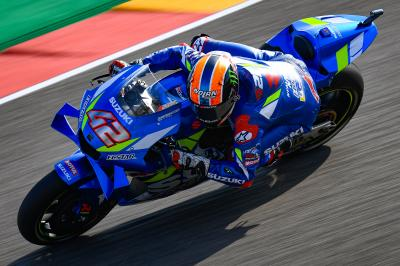 Rins tops drying FP3, Marquez stays fastest overall