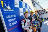 Aron Canet, Ai Ogura, Carlos Tatay, Gran Premio Michelin® de Aragon